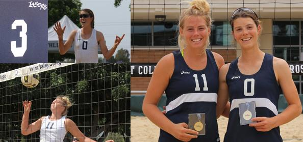 No. 3 Story of the Year - Reinking, Earnest are best on the beach