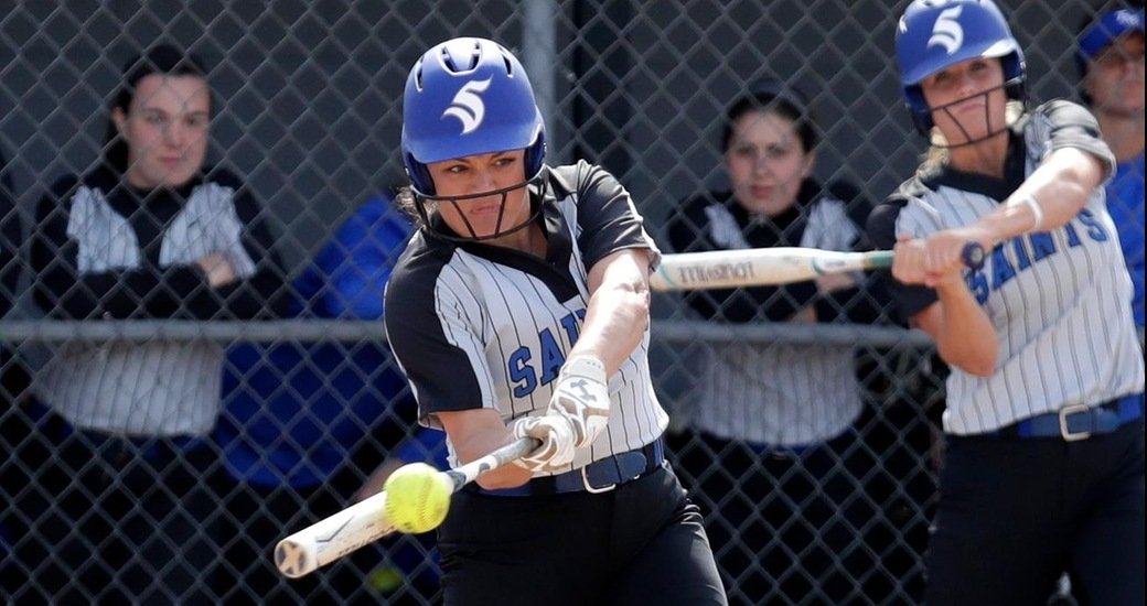 Softball Wins Two Over Albion to Extend Win Streak to 15