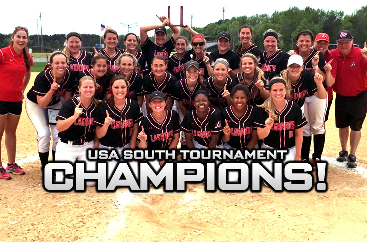 Softball: CHAMPIONS! Panthers beat William Peace in deciding game for USA South Tournament title