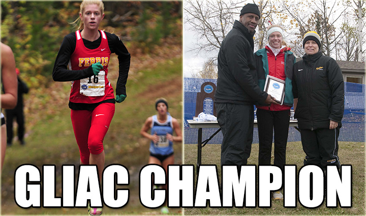 FSU's Samantha Johnson Earns Conference & National Acclaim After Winning GLIAC Crown