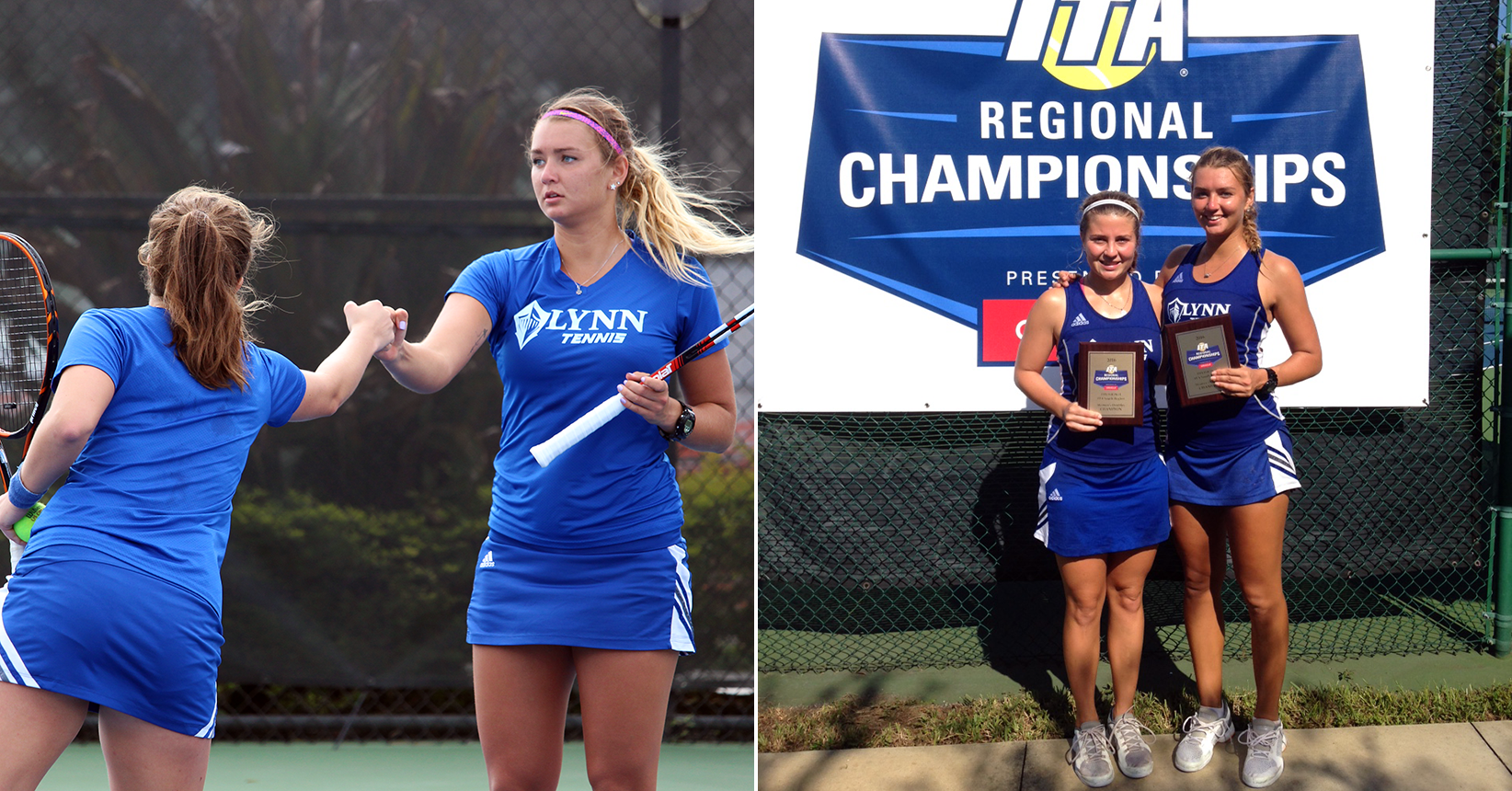 Off to Arizona! Women's Tennis Sweeps ITA South Region Titles