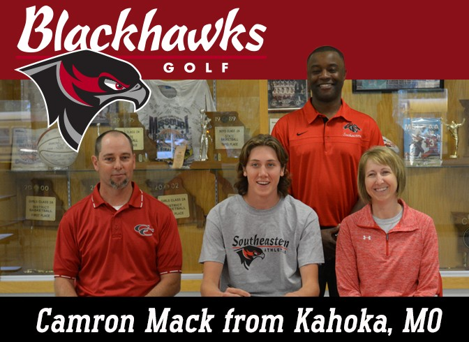 Photo for Cameron Mack signs with SCC