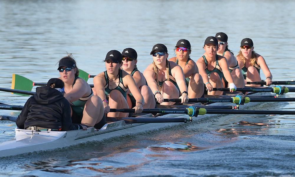ROWING WRAPS UP THE HORNET INVITATIONAL AT LAKE NATOMA