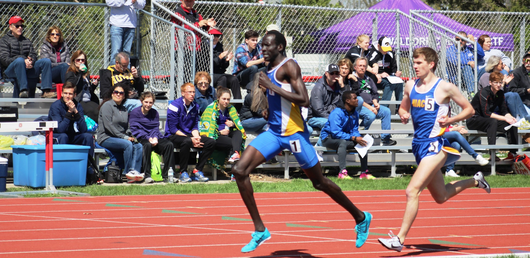 NIACC's Wal Khat will run in the unseeded University/College 800 at the Drake Relays on Thursday.