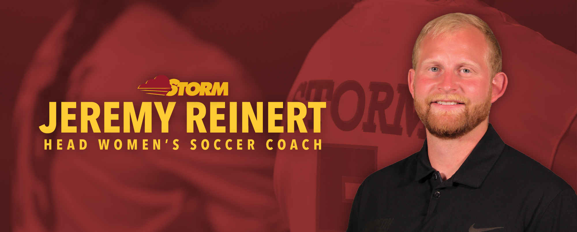 Jeremy Reinert has been hired as Simpson's head women's soccer coach.