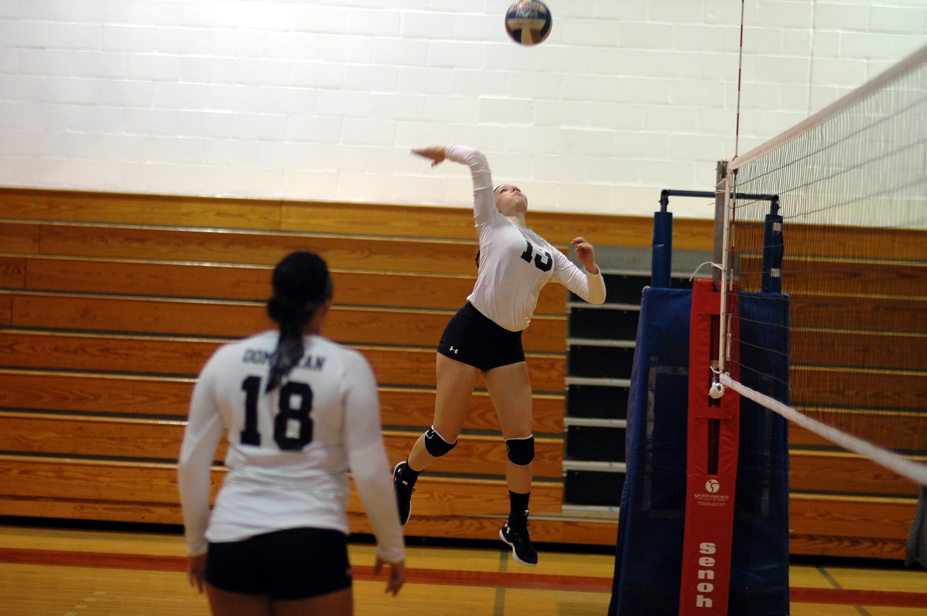 LADY CHARGERS SUFFER TOUGH LOSS TO MERCY COLLEGE