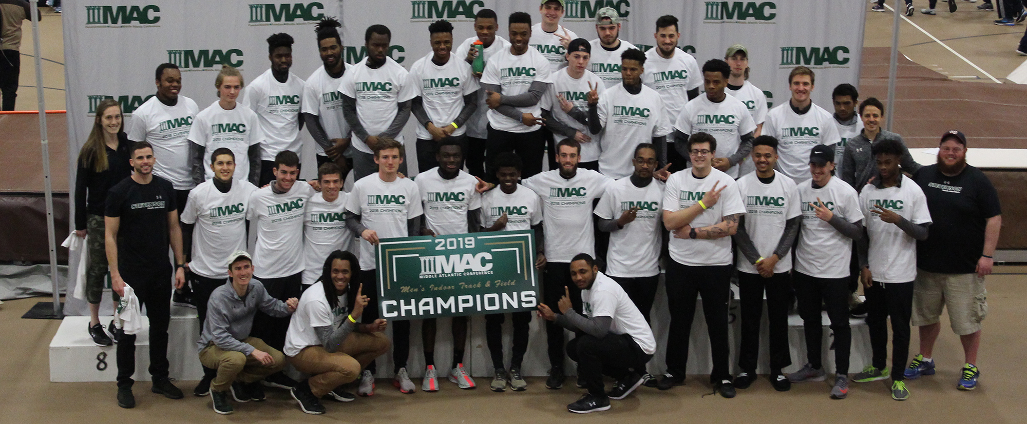 Mustangs Repeat as MAC Indoor Track and Field Champions