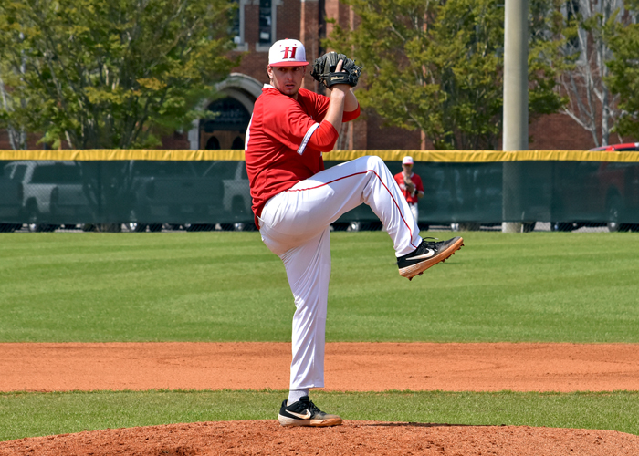 Wallace Henry struck out eight, scattered three hits, walked two and allowed one run in eight innings in Sunday's 7-1 win over Methodist.