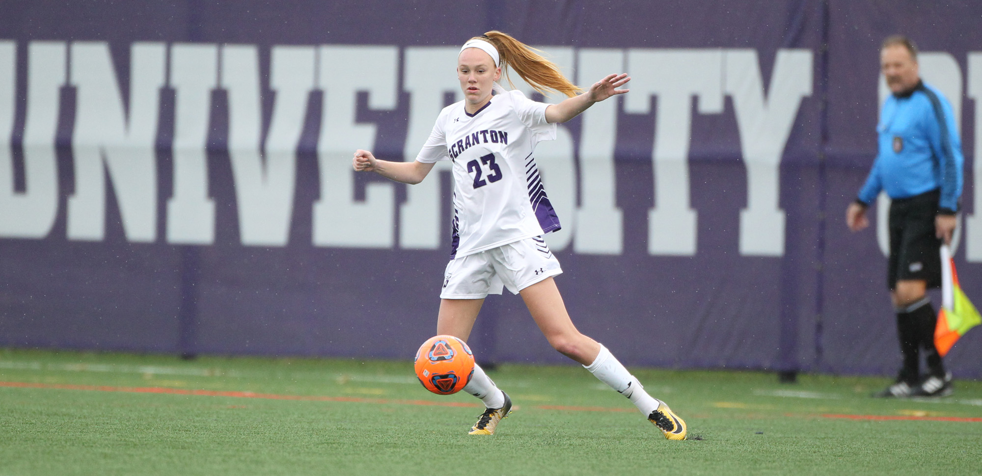 Junior Mazie Stiles posted her 12th career assist at Haverford on Sunday, as Scranton dropped a 2-1 decision to the host Fords.