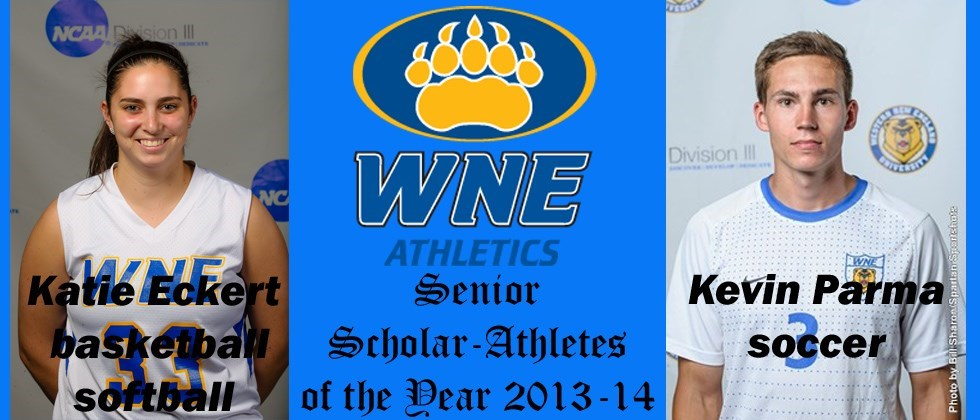 Senior Scholar-Athlete of the Year Awards Bestowed to Katie Eckert, Kevin Parma