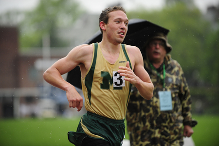 McDaniel closes indoor season