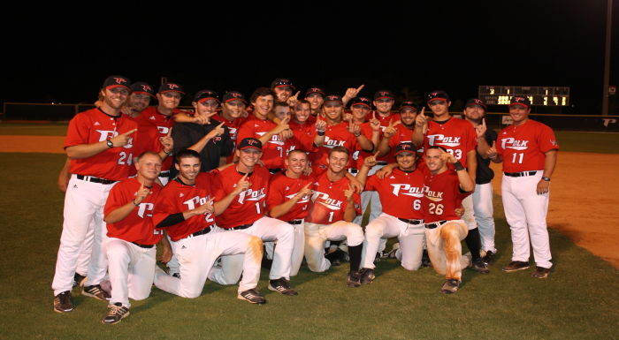 Baseball Wins Second Straight Suncoast Conference Championship