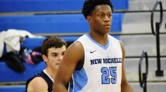 Men's Basketball: New Rochelle 90, King's 34