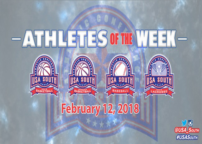 Coates and Hitt named first USA South Men's Lacrosse Athletes of the Week