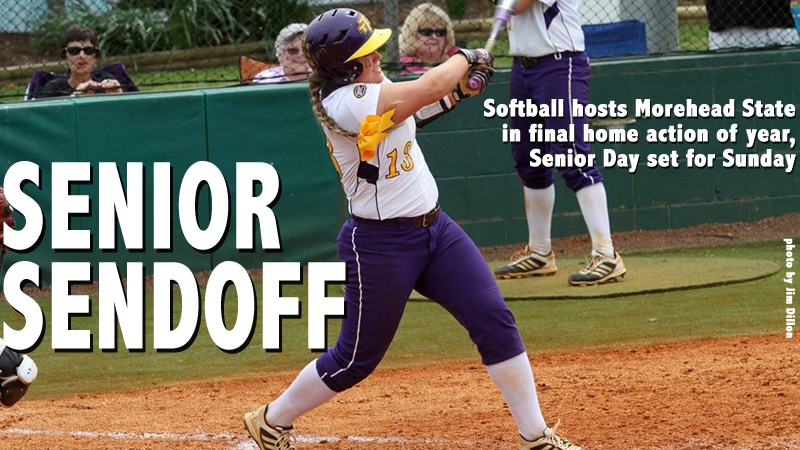 Softball to tangle with Morehead State in final home series of 2014