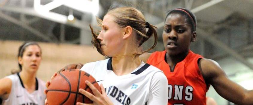 Brandeis Women's basketball loses a close contest at home to Case 61-54 in UAA action