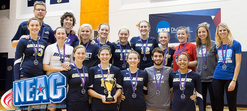 Gallaudet wins fifth straight NEAC women's volleyball championship