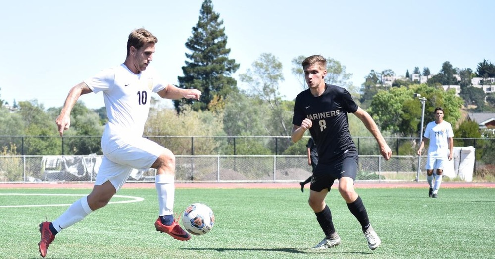 Mariners' Men's Soccer Edged Out By Hartnell 3-2