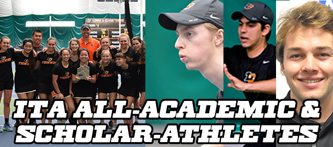 Pios notch five ITA Scholar-Athletes, Women All-Academic