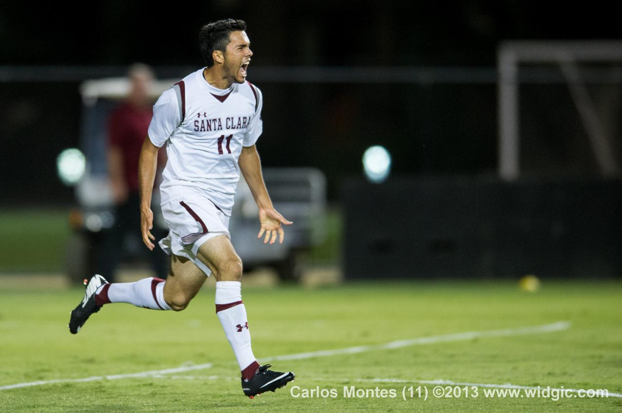 Mens Soccer Sweep Gonzaga; Carlos Montes with Second Game-Winner of the Weekend
