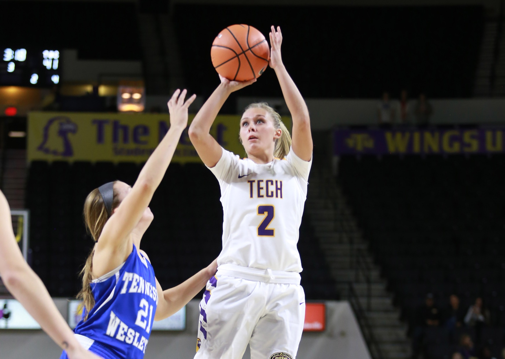 Tech's offensive effort pushes Golden Eagles to season-opening win over Tennessee Wesleyan