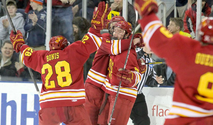 Ferris State Battles Michigan To Overtime Draw; Will Visit Ohio State For Second-Round Playoff Series