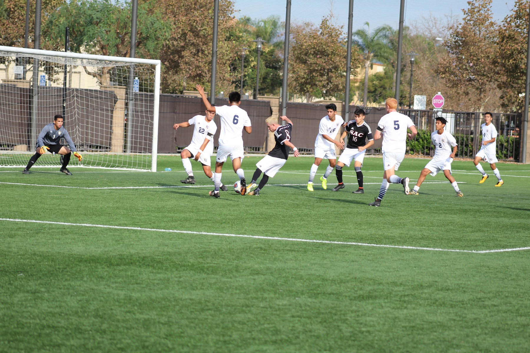 Dons Keep Pace With 2-1 Win Over Fullerton
