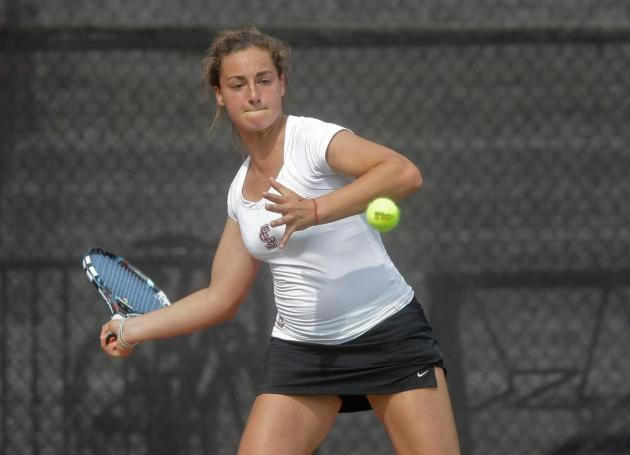 Women's Tennis Easily Handles No. 53 USD, 6-1; Host No. 40 Saint Mary's for Senior Day on Sunday