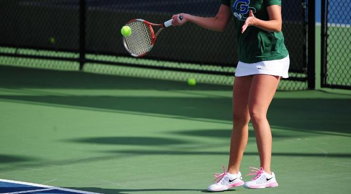 #34 GC Women's Tennis Team Falls to #5 Columbus State, 8-1