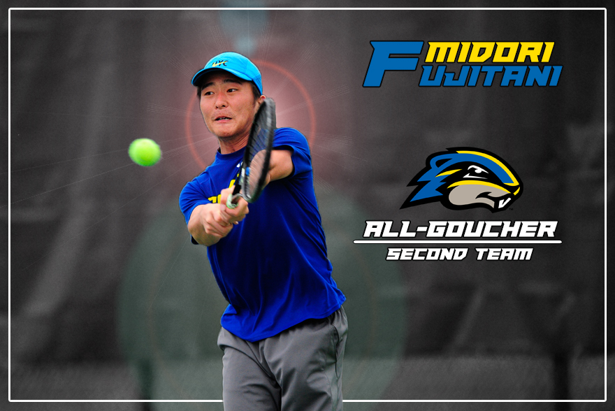 Fujitani Honored on All-Goucher Second Team