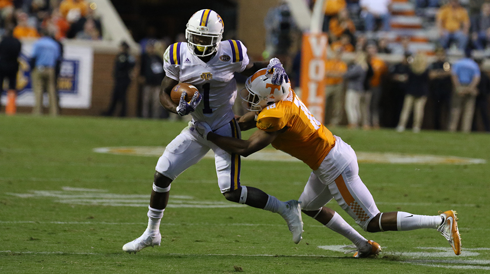 Tennessee shuts out Tennessee Tech 55-0
