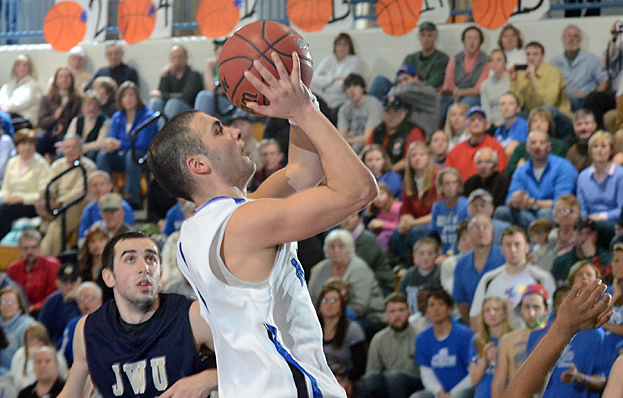 Men's Basketball Predicted to Finish Second in GNAC Preseason Poll