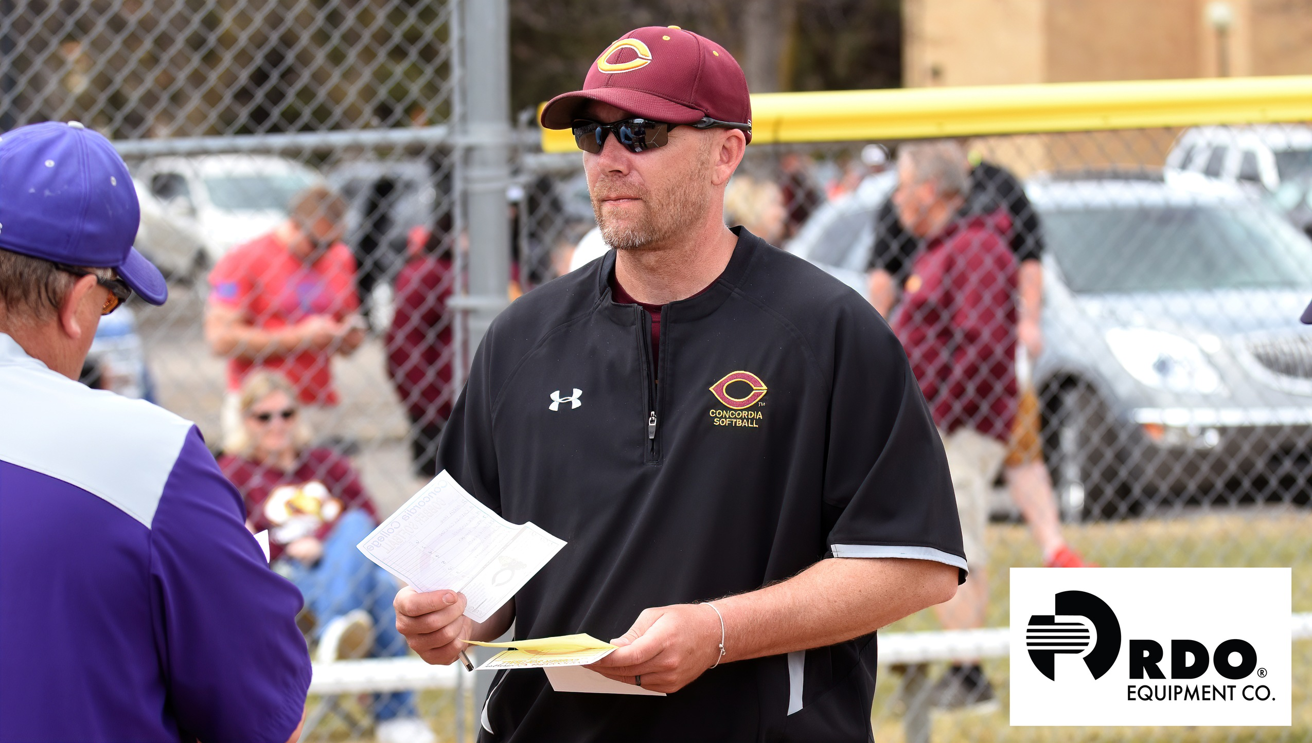 Head coach Chad Slyter won his 300th career game as a head softball coach on Thursday. The Cobbers two wins pushed his victory total to 301 which has amassed in his stints at Valley City State, Fargo Shanley and Concordia.