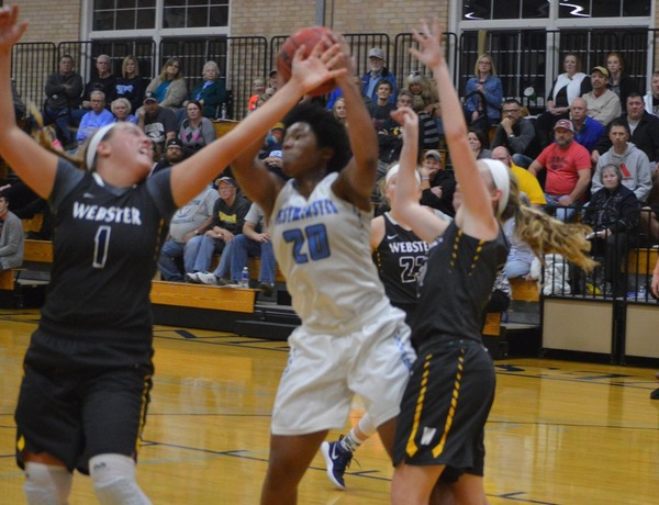 Johnson's Career Night Lifts Blue Jays Over Webster in Overtime