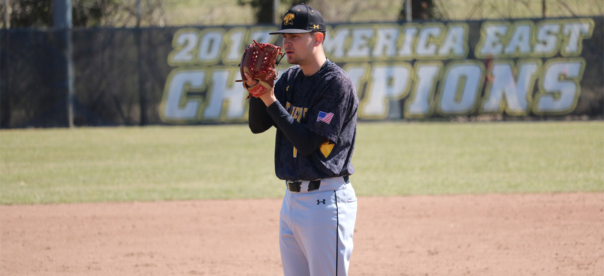 UMBC Baseball Hosts First-Place Stony Brook This Weekend