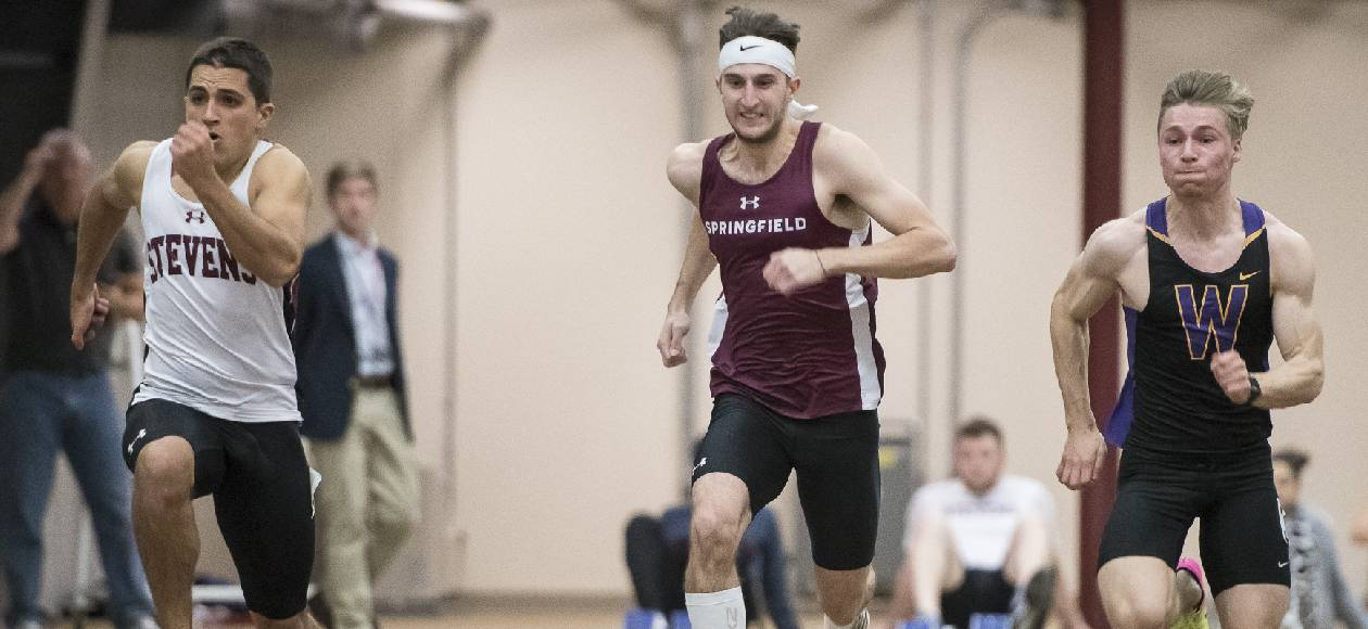 Men's Track and Field Races at David Hemery Valentine's Invitational