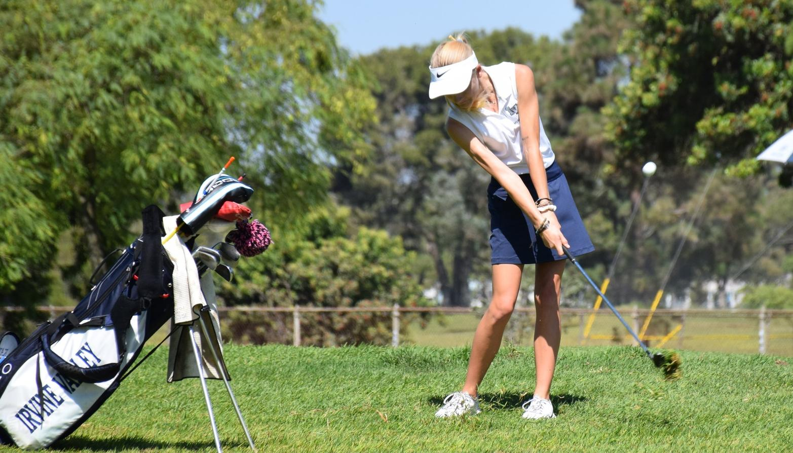Golfer Katie Stribling earns top three finish at El Prado