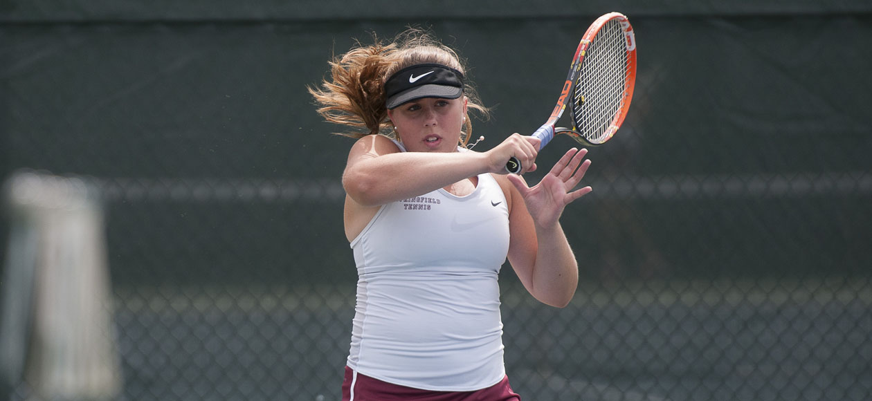 Women's Tennis Downs Emerson, 7-2, For First NEWMAC Win