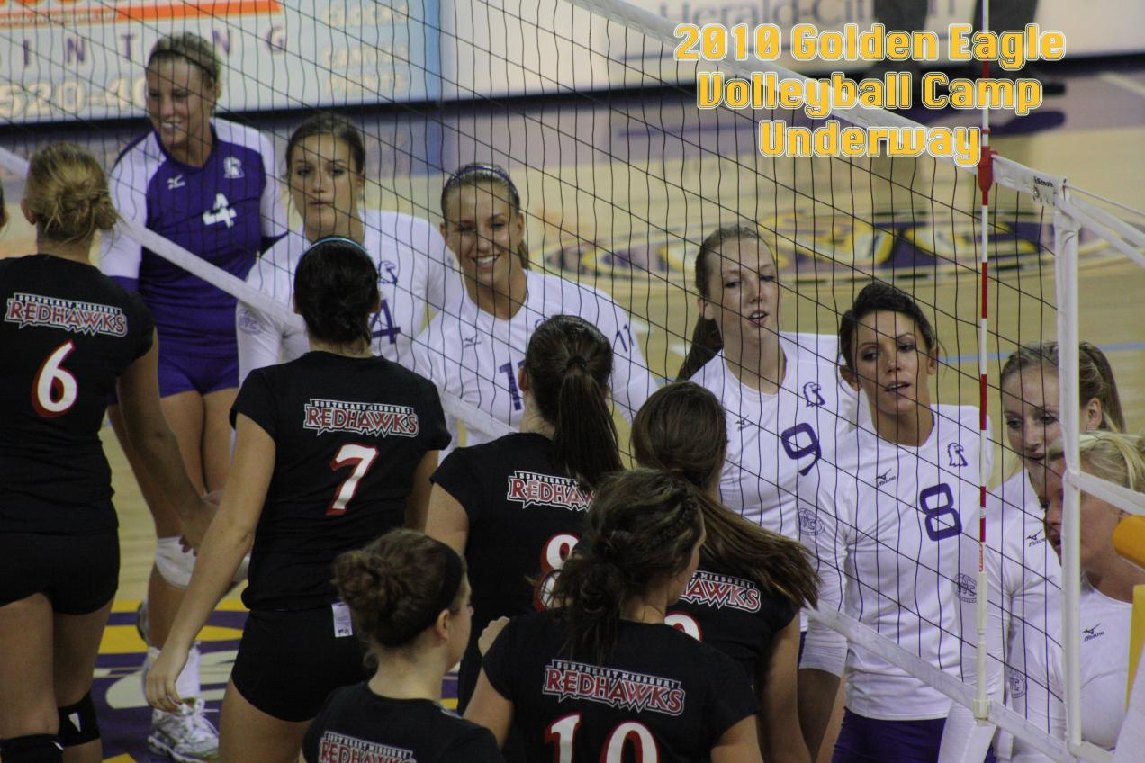 Golden Eagle volleyball camp begins