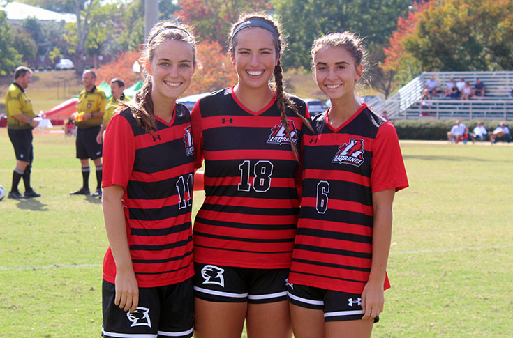 Women's Soccer: Piedmont edges Panthers 1-0 on Senior Day