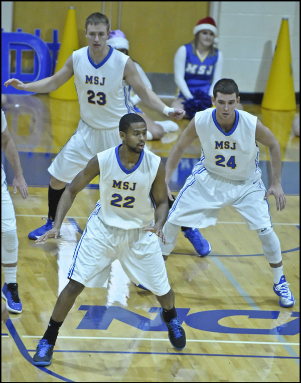 Mount men's basketball claims HCAC first round 75-54 win over Transylvania University