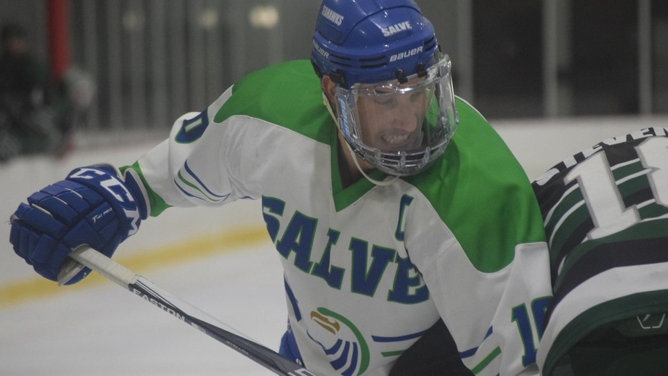 Salve Regina topped Plymouth State 2-1 in a hard fought non-conference match-up Tuesday (Photo by Ed Habershaw).