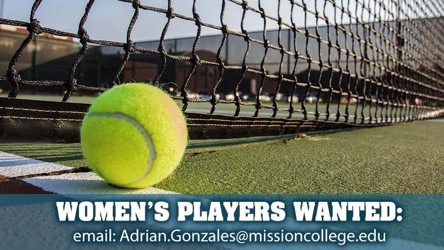 Join the varsity tennis team!