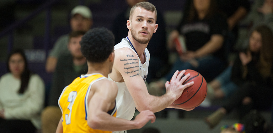 Comets Rally In Second Half To Upend Men's Basketball Team