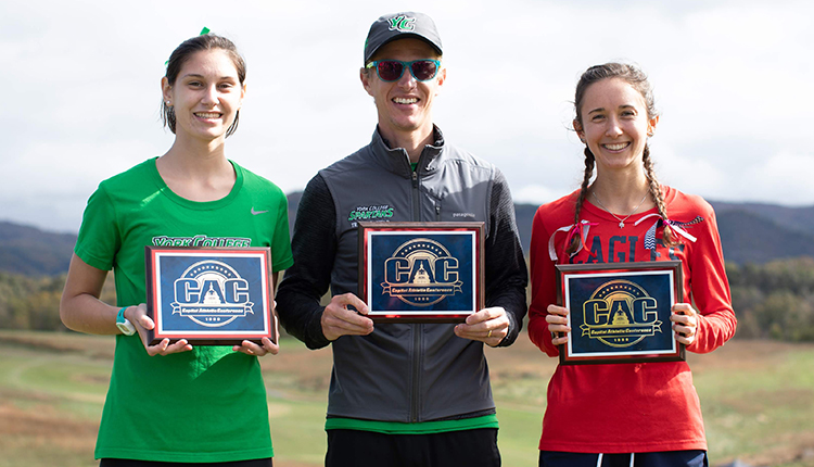 Mary Washington's Weisbeck, York's Haberstroh & LoBianco Collect Major Awards on 2018 All-CAC Women's Cross Country Team
