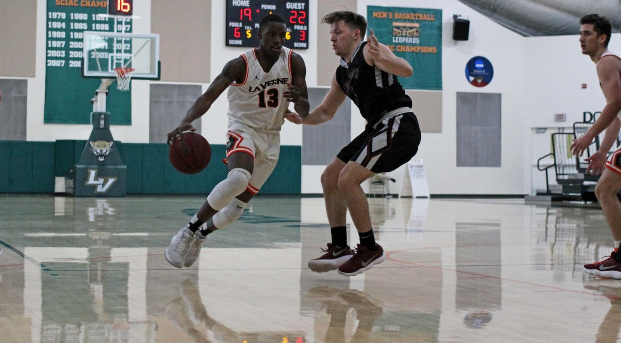 Leopards fall at Rains Center
