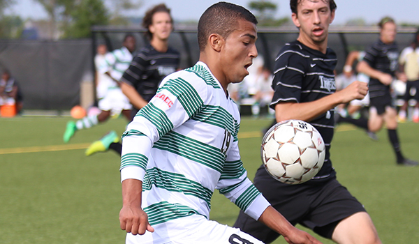 Offense Comes Alive as Wilmington Men's Soccer Downs Holy Family, 5-1, in CACC Opener