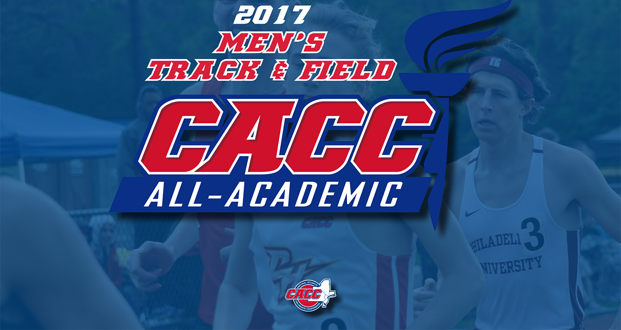 21 Student-Athletes Land on 2017 CACC Men's Track & Field All-Academic Team