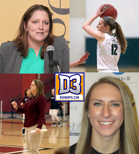 Sage's Schoff and Coleman honored with release of 2018 D3Hoops.com All-East Team
