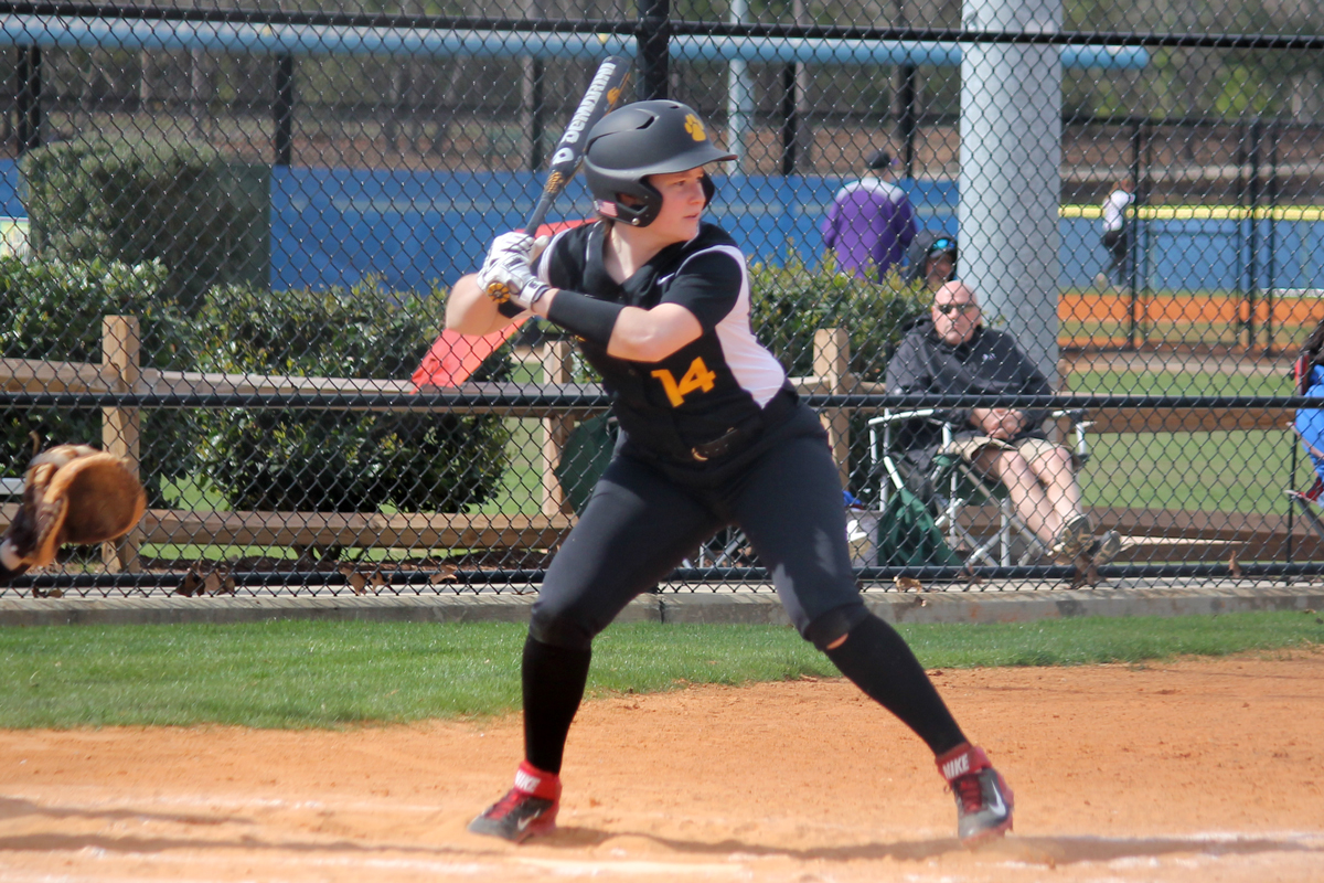 Winter Blasts First Collegiate Home Run to Power Softball over Dean 14-3